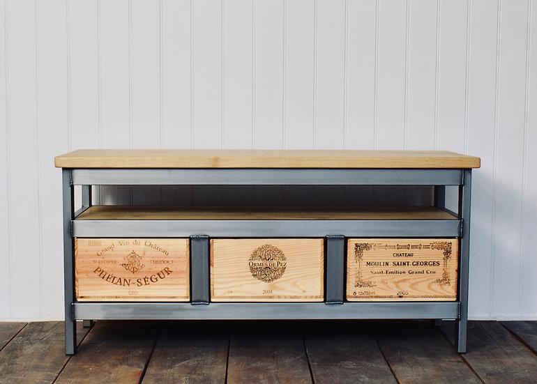 3x1 Acier TV Cabinet