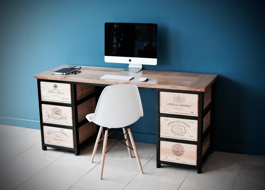 Acier desk