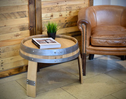 Kalbarri wine barrel table