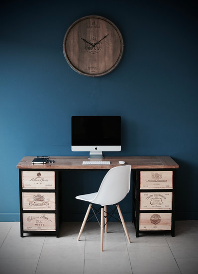 Acier Desk (wall facing)