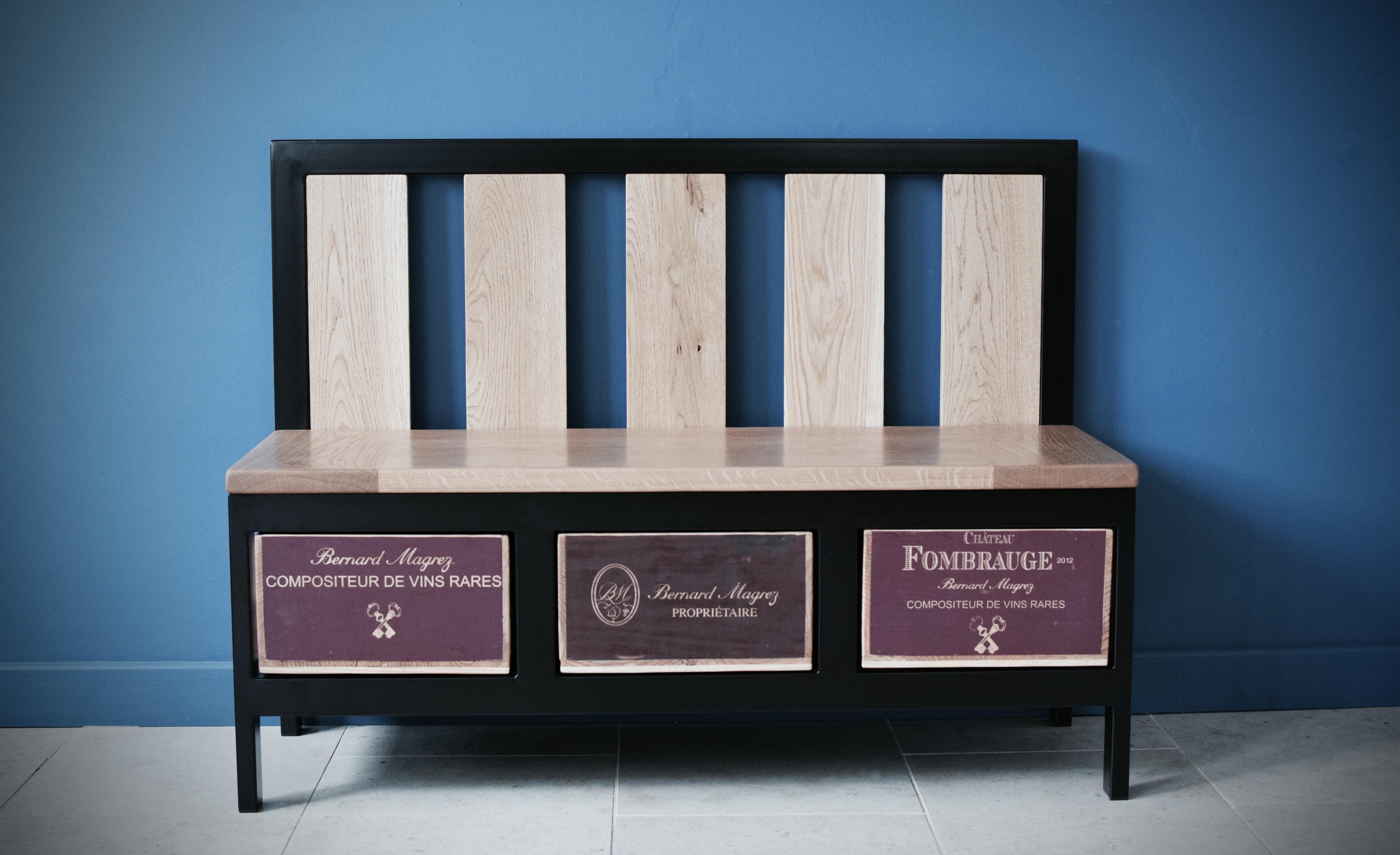 3x1 Acier bench