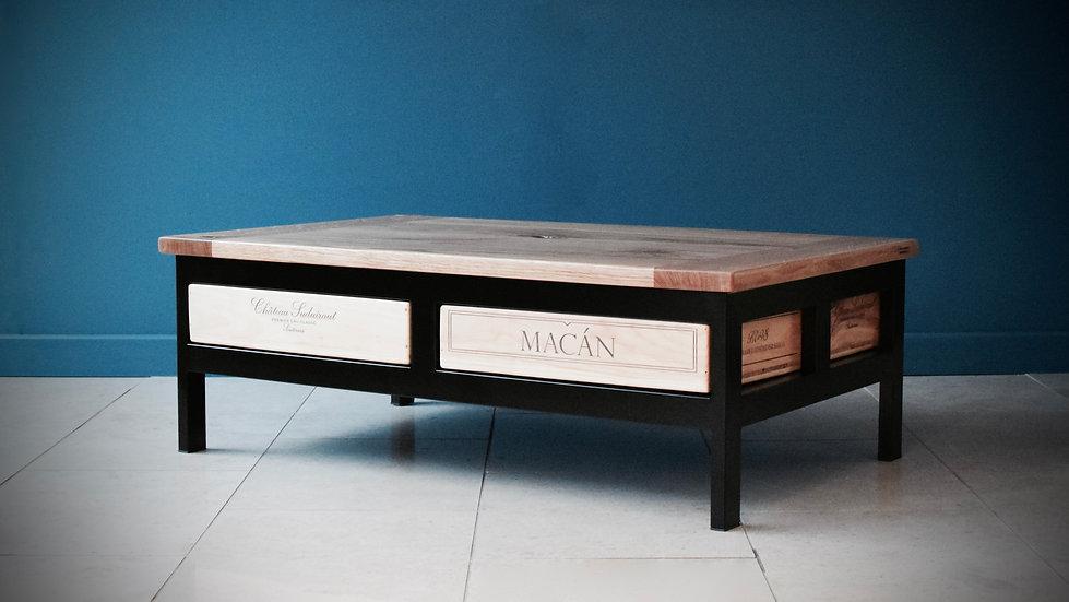 4x1 Acier coffee table