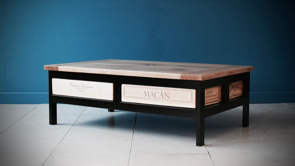 Acier 4x1 coffee table