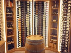 Custom wine barrel glass store