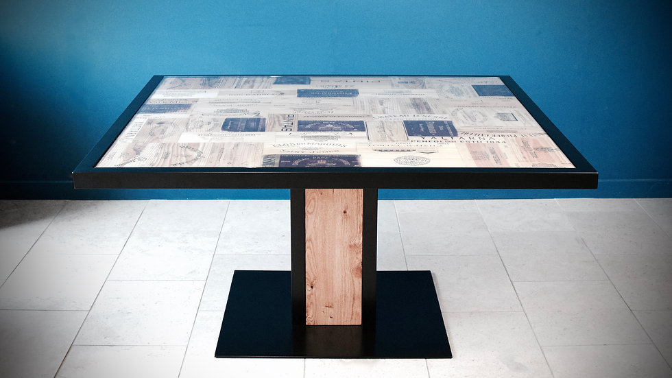 Acier 8 Seater Dining Table