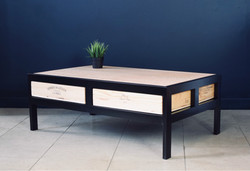 Bespoke Acier coffee table