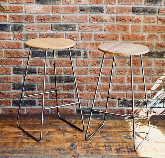 Bremer Bay Bar Stool clear finish