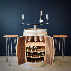 Yeagarup Drinks Cabinet & glass top