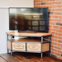 Bespoke Acier corner TV cabinet