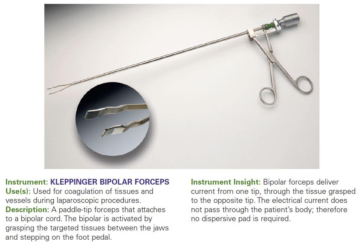 KLEPPINGER BIPOLAR FORCEPS