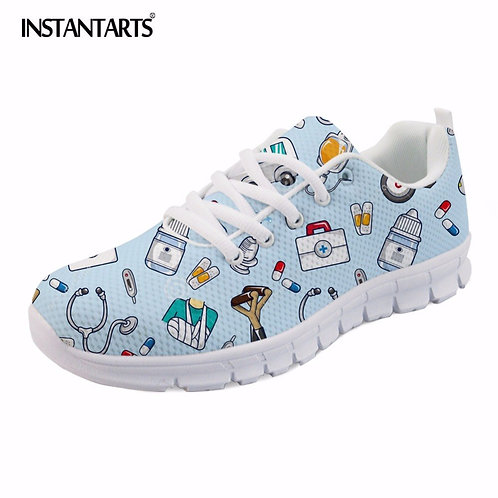 Comfortable Sneaker Women Running Sport Shoes Fashion Pattern