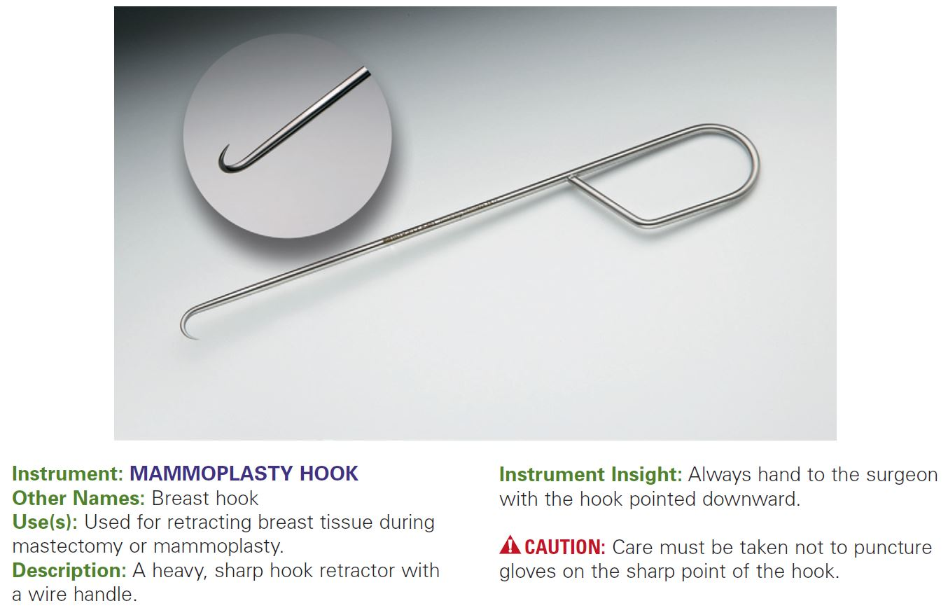 MAMMOPLASTY HOOK