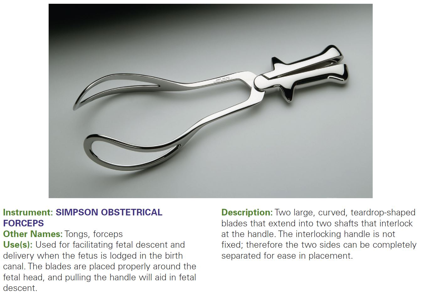 SIMPSON OBSTETRICAL FORCEPS