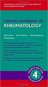 Oxford Handbook of Rheumatology 4th Ed.j