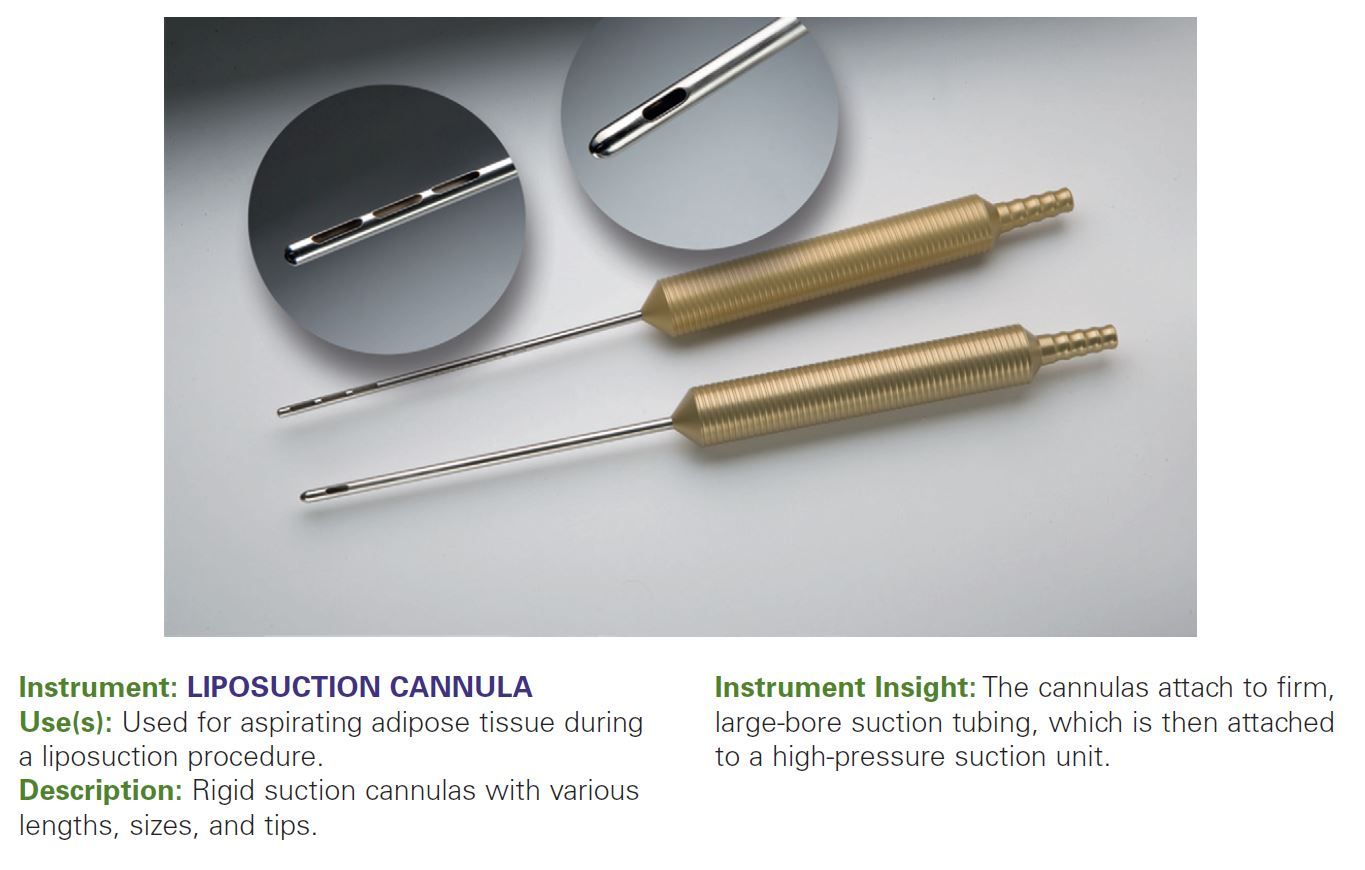 LIPOSUCTION CANNULA