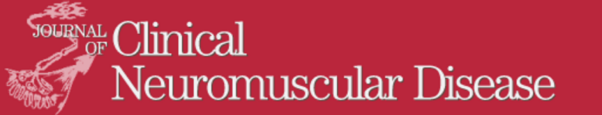 Journal of Clinical Neuromuscular Disease