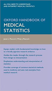 Oxford Handbook of Medical Statistics 1s