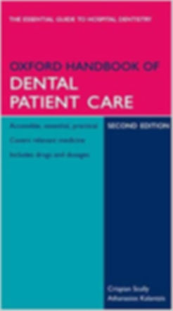 Oxford Handbook of Dental Patient Care 2