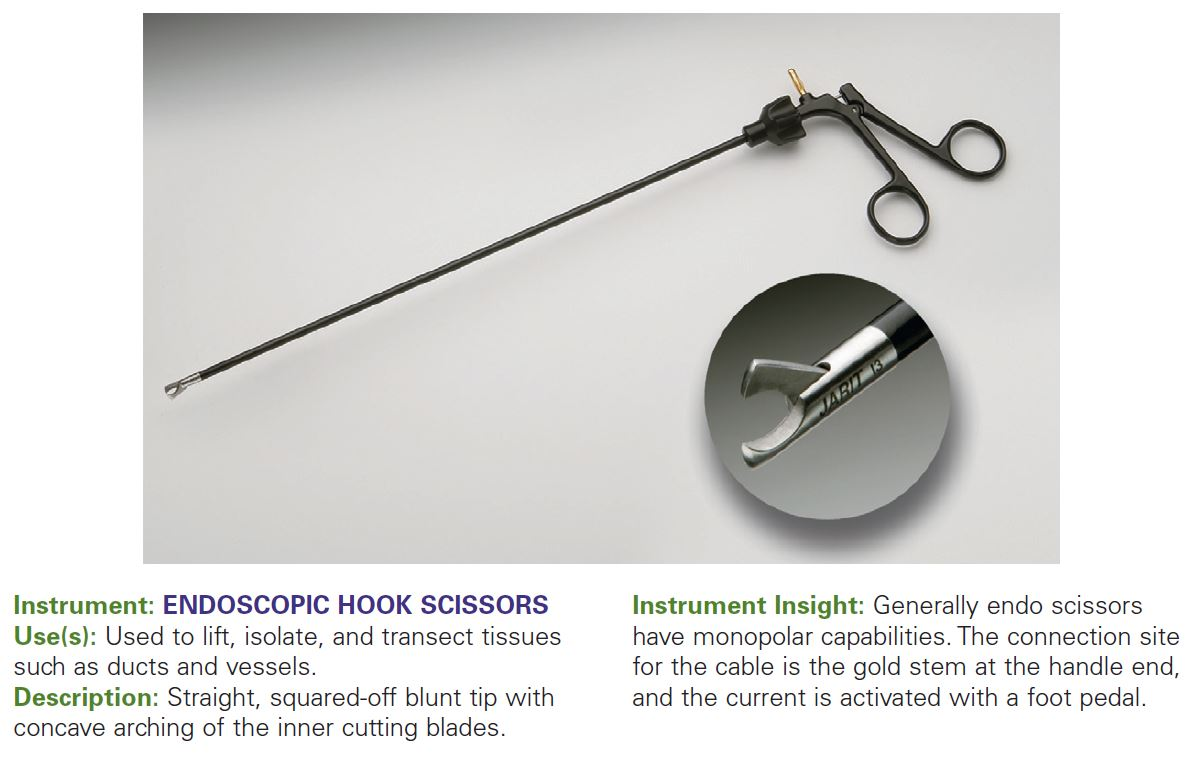 ENDOSCOPIC HOOK SCISSORS