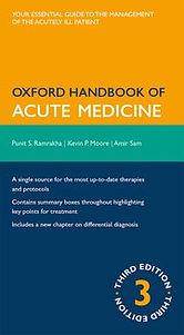 Oxford Handbook of Acute Medicine 3rd Ed