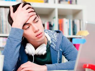 دليل الطالب القلقان من الامتحان