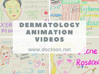 فيديوهات شرح animation في الـ Dermatology - رائعة