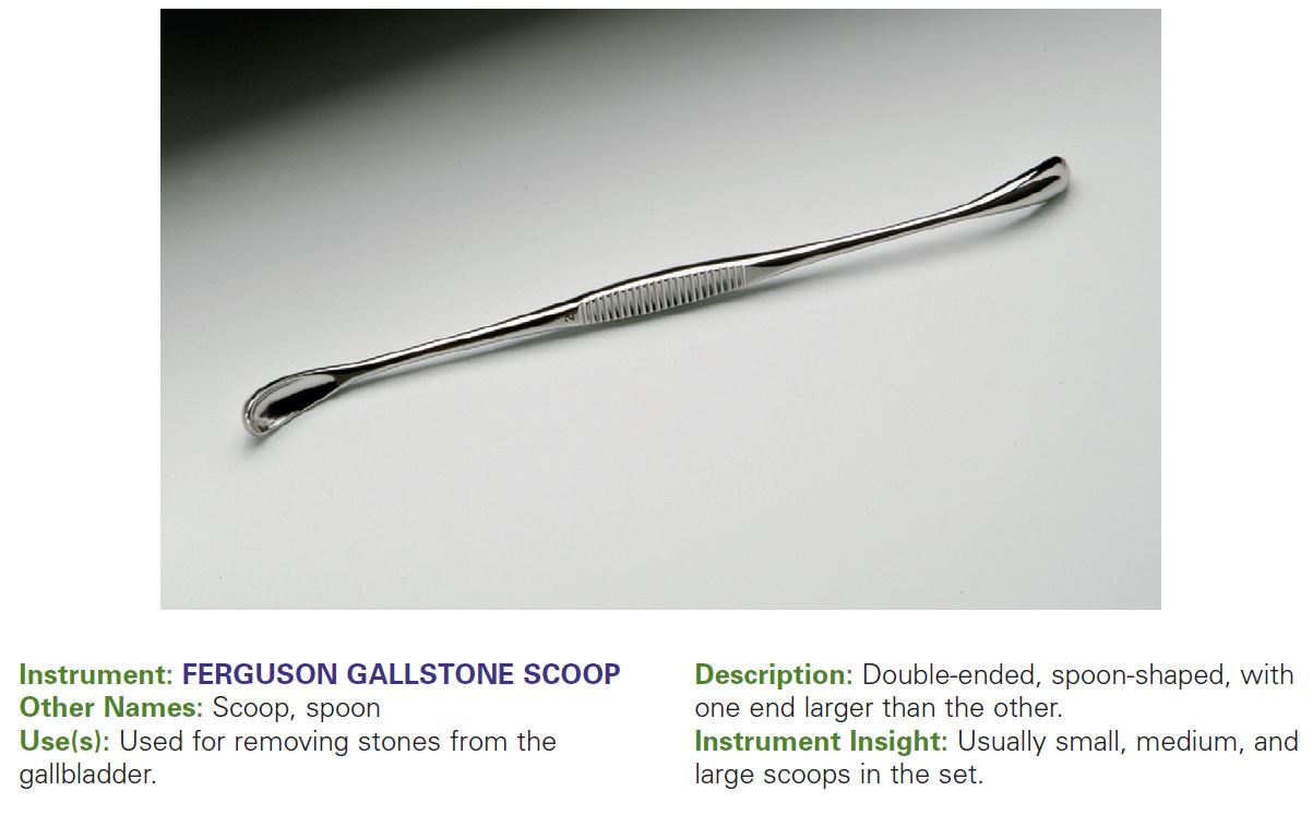 FERGUSON GALLSTONE SCOOP
