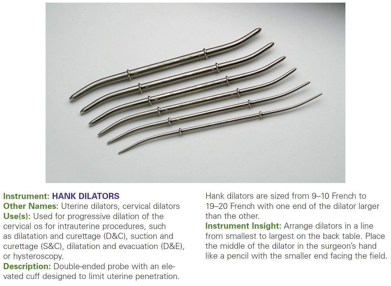 HANK DILATORS