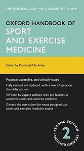 Oxford Handbook of Sport & Exercise Medi