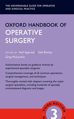 Oxford Handbook of Operative Surgery 3rd