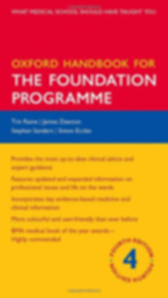 Oxford Handbook for The Foundation Progr