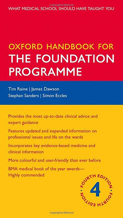 Oxford Handbook for The Foundation Progr