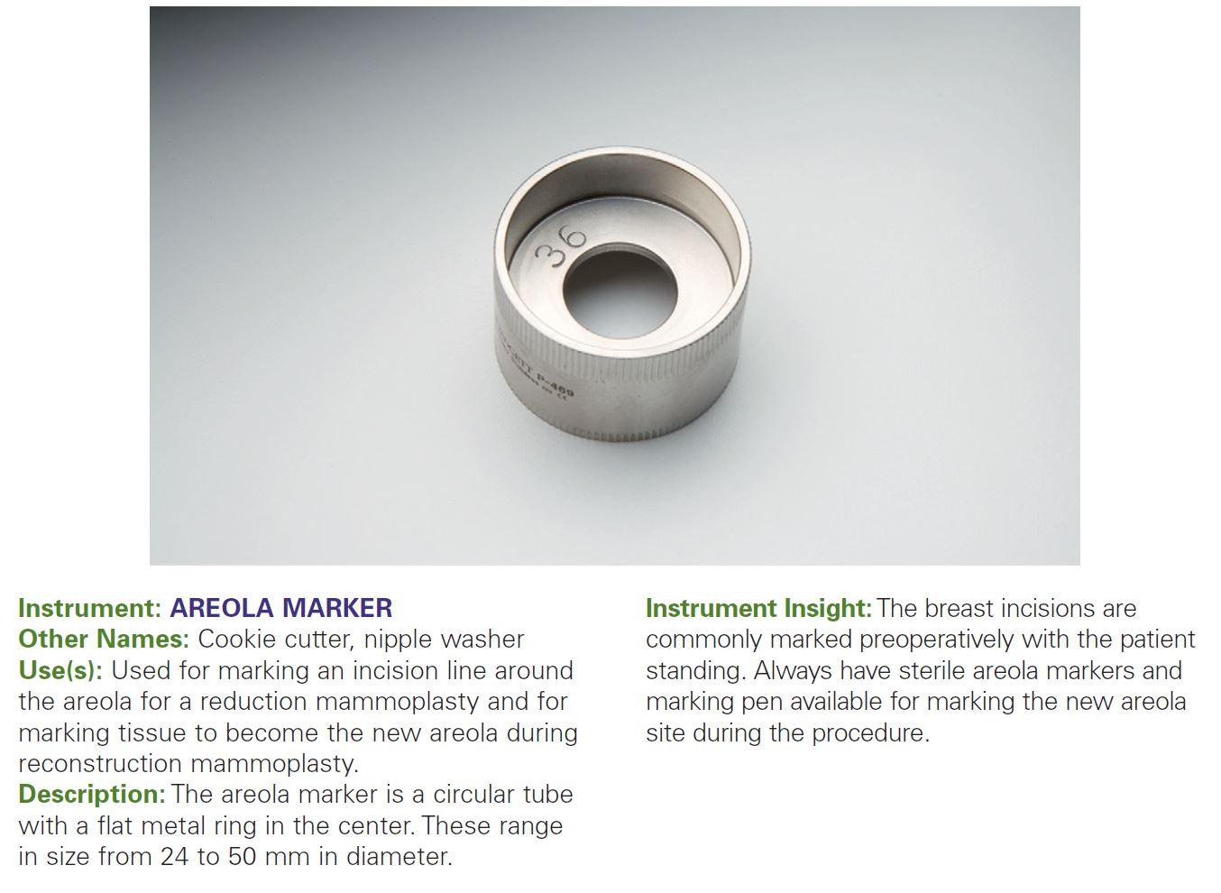 AREOLA MARKER