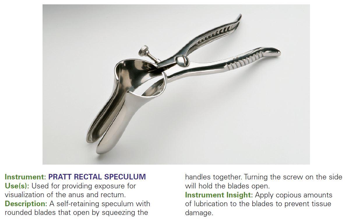 PRATT RECTAL SPECULUM