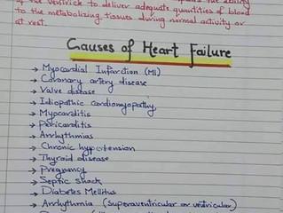 Heart Failure ملخص رائع في شرح الـ
