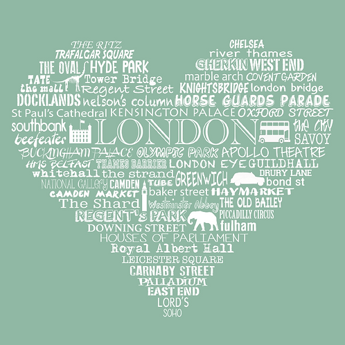 NEW! London Heart - Meadow