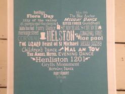 Bespoke Helston Tea Towels Now Available