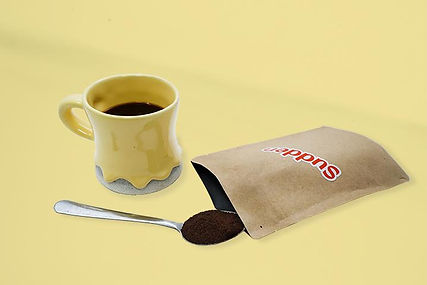 Sudden Coffee brand gourmet pouch coffee