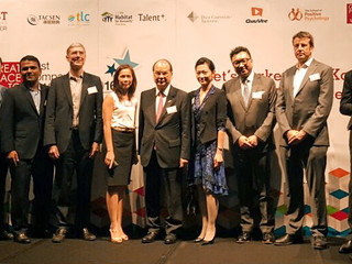 TLC named as Best Practice Partner of Great Place to Work® Institute in Hong Kong.