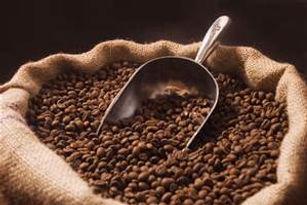 bulk coffee with scoop