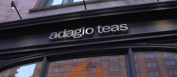 Adagio Teas building
