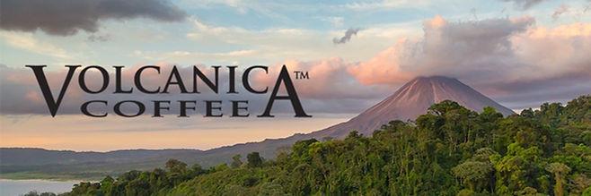 Volcanica Coffee brand logo
