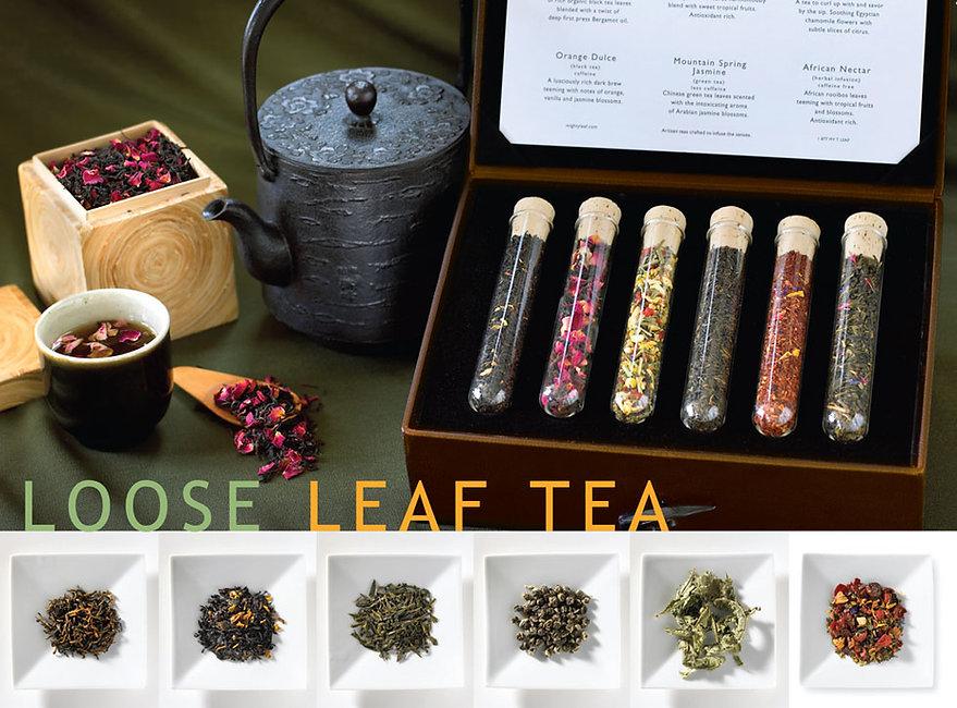 Mighty Leaf brand gourmet loose teas