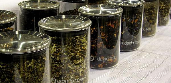 Adagio brand gourmet loose teas