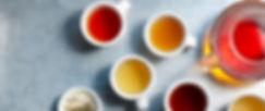 Cups of goumet coffee