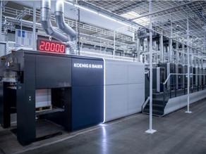 Koenig&Bauer、枚葉オフセット印刷機の新モデル「Rapida106X」を発表 両面印刷でも毎時2万枚の高速性
