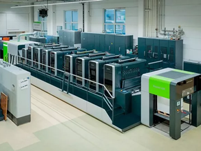 Koenig & Bauer 最新鋭枚葉印刷機「Rapida106X」がベールを脱ぐ
