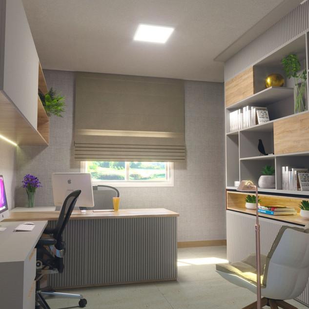 home office design de interior campinas.