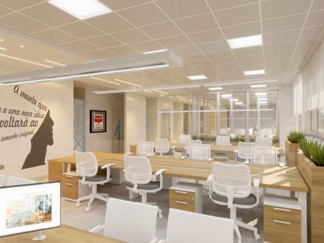 "Layout de espaços abertos - ""Open Space""-  serve para a sua empresa?"