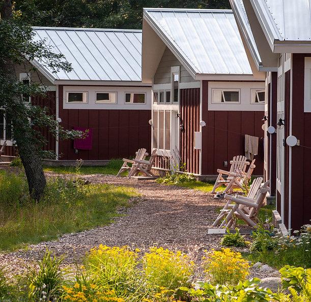 North Star camp cabins